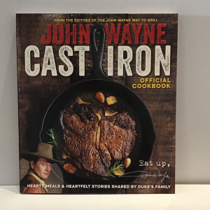 John Wayne Cast Iron Cook Book